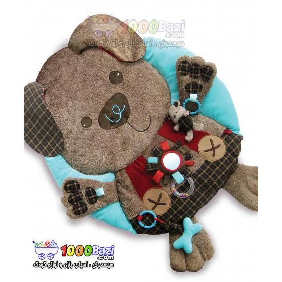 تشک بازی نوزاد طرح خرس و سگ کوچولو Little Bird
