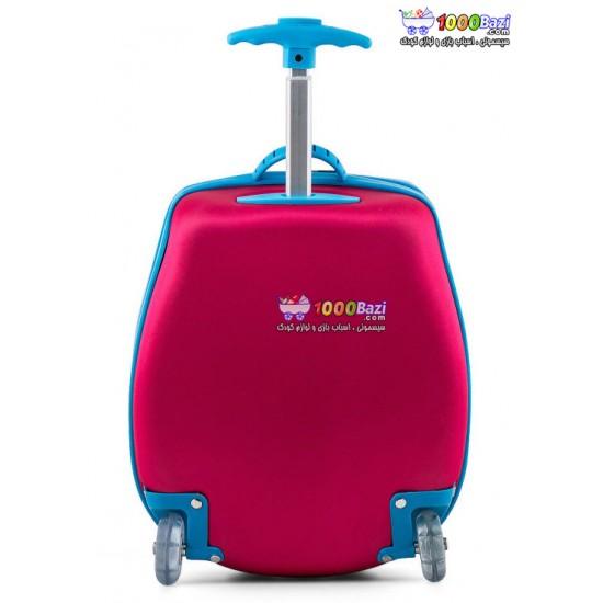 کیف چمدانی چرخدار طرح جغد oops