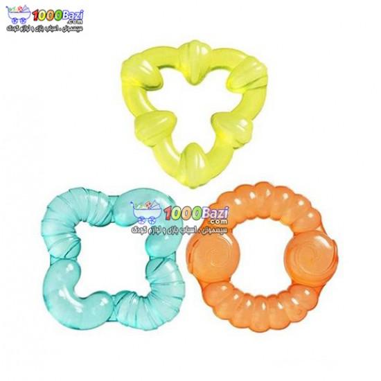 دندانگیر ژله ای 3 عددی Playgro