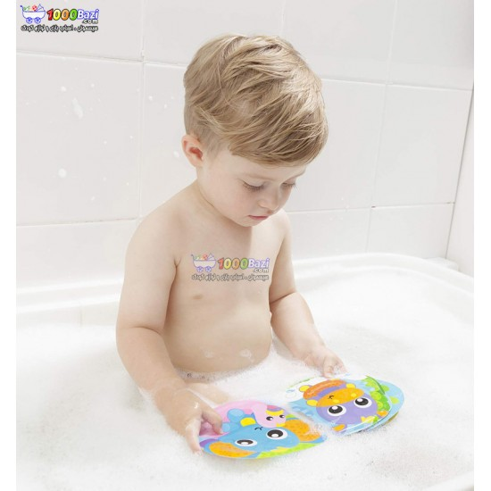 كتابچه حمام حیوانات دریایی Playgro