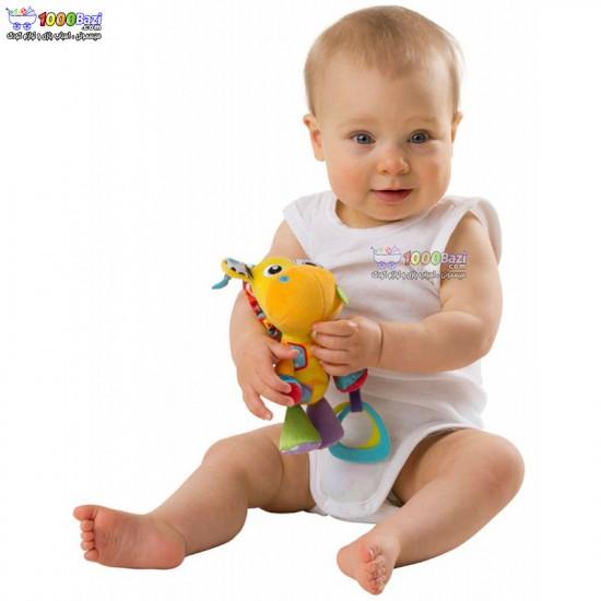 عروسک آویزدار جغجغه ای زرافه Playgro