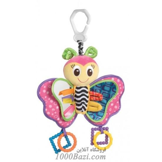 عروسک آویزی کودک طرح پروانه Playgro