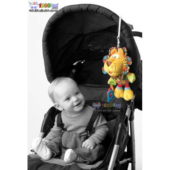 عروسک گیره دار شیر Playgro