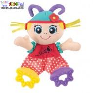 عروسک دندانگیر دار طرح دختر پلی گرو Playgro