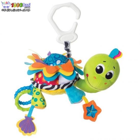 عروسک جغجغه ای گیره دار طرح لاک پشت Playgro