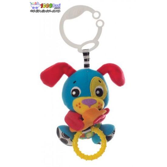 عروسک سگ گیره دار ویبره ای Playgro