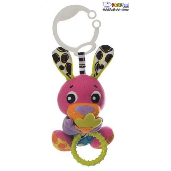 عروسک خرگوش گیره دار ویبره ای Playgro