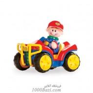 اسباب بازی کودک ماشین جیپ قرمز Tolo