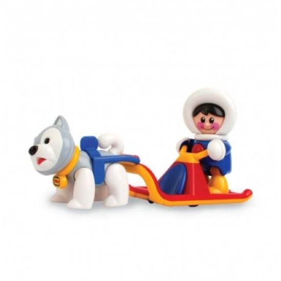 اسباب بازی کودک تولو اسکیمو یخی با سگ