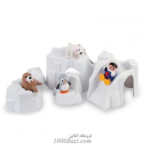 اسباب بازی کودک ست کوه یخ قطبی اسکیموها  Tolo