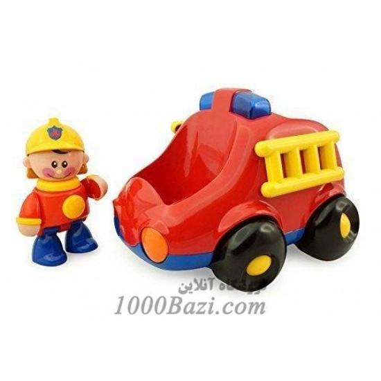 اسباب بازی ماشین آتش نشانی تولو