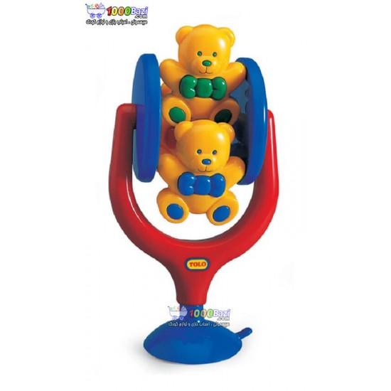 اسباب بازی کودک تولو خرس های چرخان Tolo
