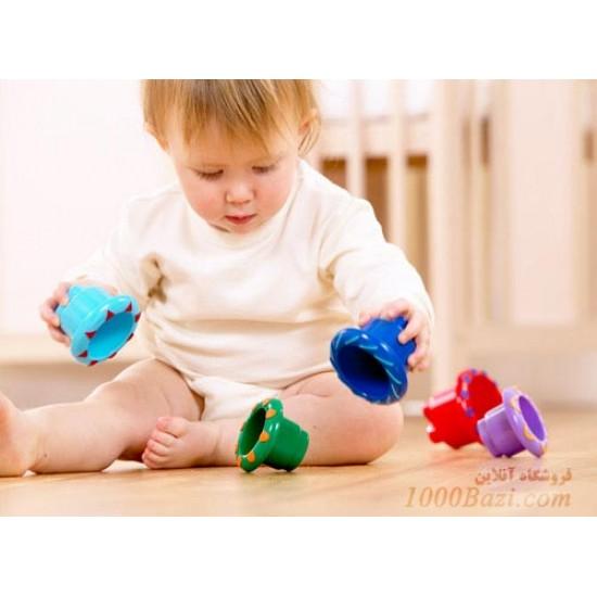 اسباب بازی کودک Tolo هرم رنگین کمان تولو