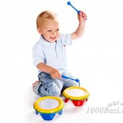 اسباب بازی کودک Tolo طبل دوطرفه تولو