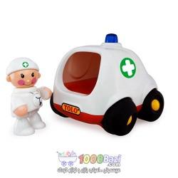 اسباب بازی ماشین آمبولانس تولو