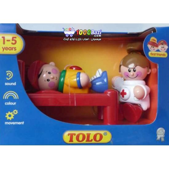 اسباب بازی ست بیمارستان Tolo