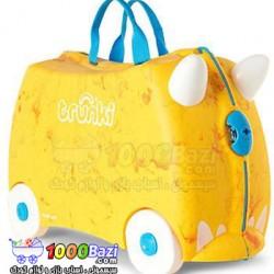 چمدان و اسباب بازی چرخدار کودک طرح Rox نارنجی Trunki