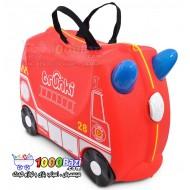 چمدان و اسباب بازی چرخدار کودک طرح آتش نشانی Trunki