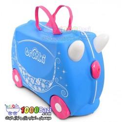 چمدان و اسباب بازی چرخدار کودک طرح سیندرلا Trunki