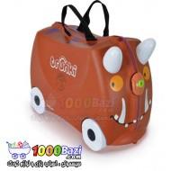 چمدان و اسباب بازی چرخدار کودک طرح بوفالو Trunki