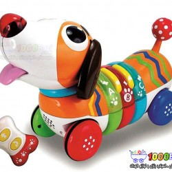 اسباب بازی سگ رنگین کمان کنترلی Winfun