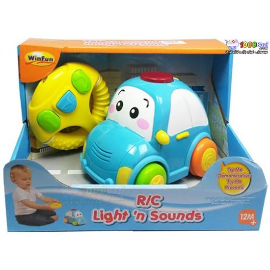 اسباب بازی ماشین کنترلی موزیکال Winfun