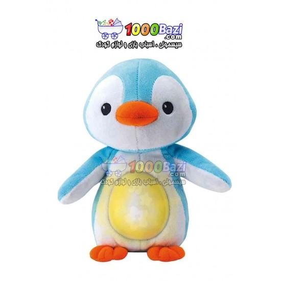 عروسک پنگوئن پولیشی چراغدار Winfun