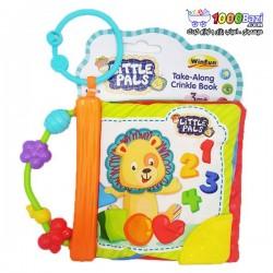 اسباب بازی کتاب پارچه ای جغجغه دار Winfun