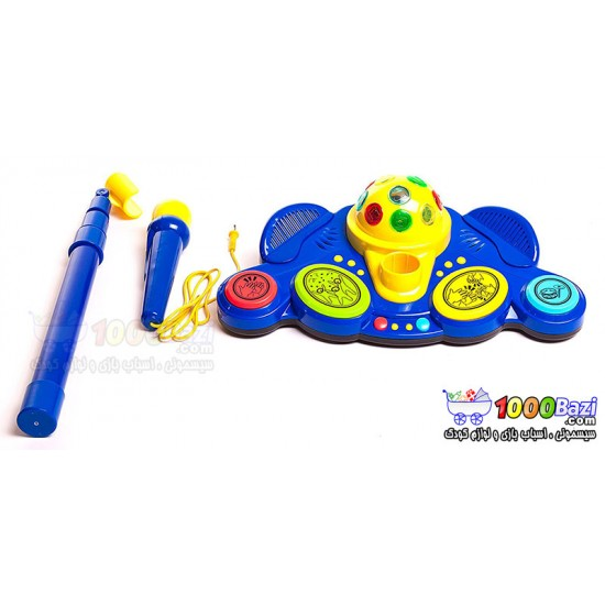 اسباب بازی میکروفن پایه دار Winfun