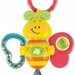 اسباب بازی آویز جغجغه پروانه Winfun
