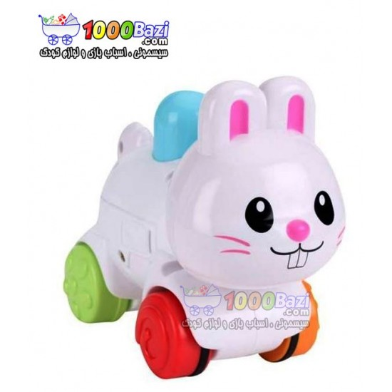 اسباب بازی خرگوش چرخدار Winfun