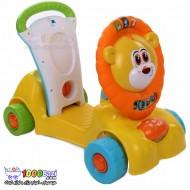 اسباب بازی اسکوتر 3 کاره شیر Winfun