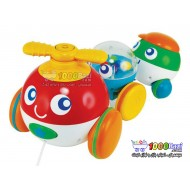 اسباب بازی هلی کوپتر حباب ساز کشیدنی Winfun