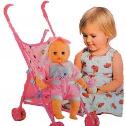 عروسک با کالسکه
