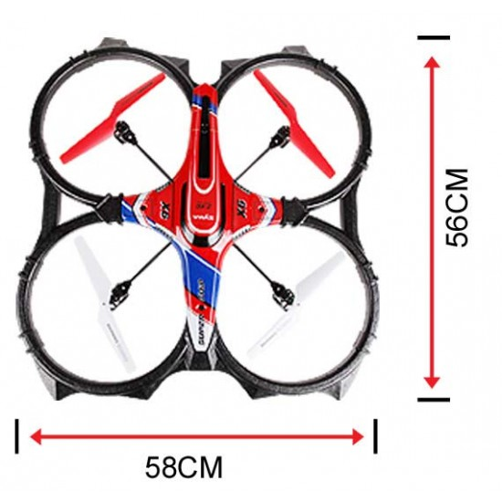 کوادکوپتر کنترلی (هلیکوپتر 4 پره )مدل Syma X6