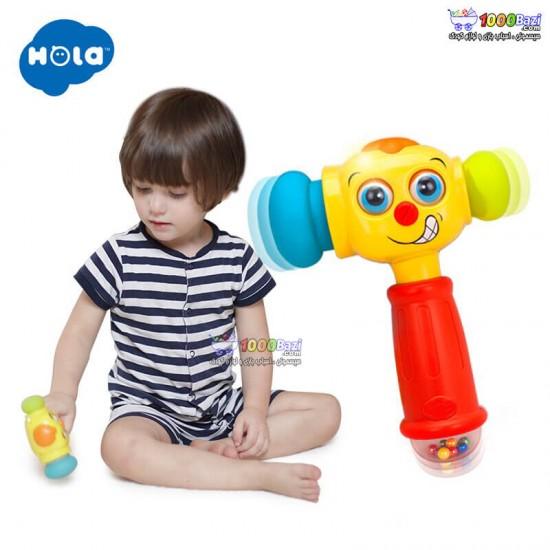 چکش خندان هولی تویز Huile Toys