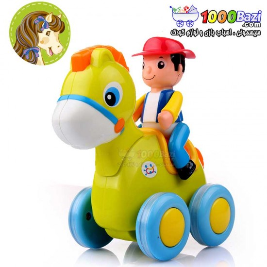 اسباب بازی فیل سوار هولی تویز huile toys