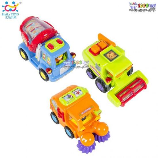 ماشین های شهرداری هولی تویز Huile Toys