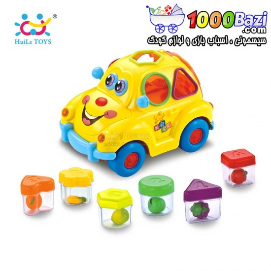 ماشین آموزشی موزیکال هولی تویز huile toys