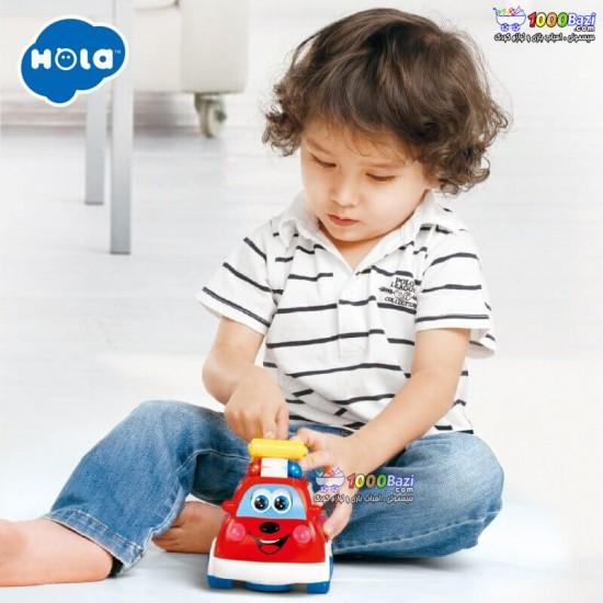 ماشين آتش نشانی هوشمند دو زبانه هولی تویز Huile Toys
