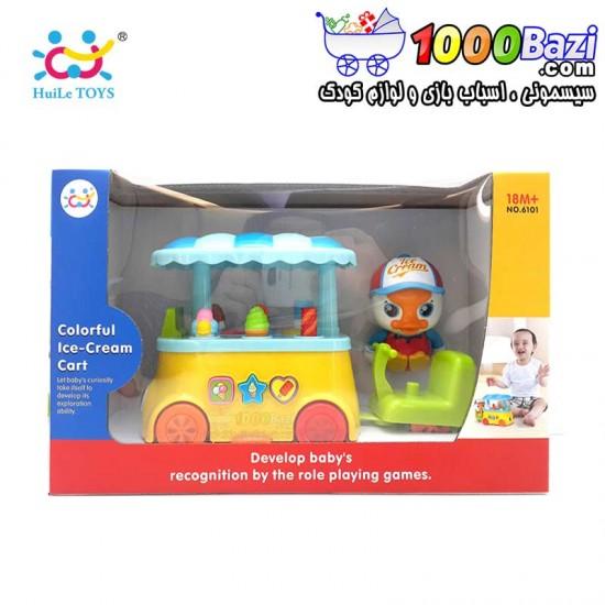 اسباب بازی بستنی فروش هولی تویز huile toys