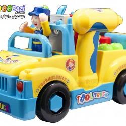 اسباب بازی ماشین ابزار هویلی تویز huile toys