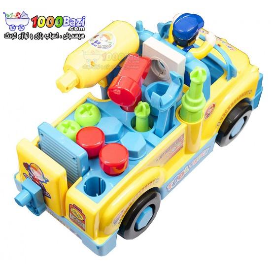 اسباب بازی ماشین ابزار هولی تویز huile toys