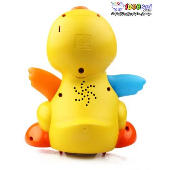 اسباب بازی اردک موزیکال هویلی تویز huile toys