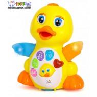 اسباب بازی اردک موزیکال هولی تویز huile toys