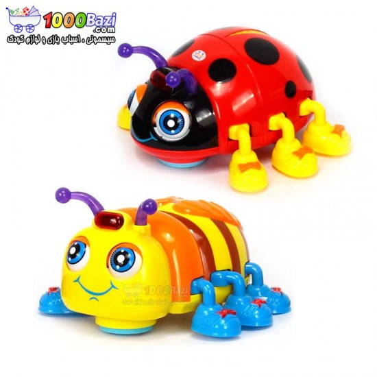 اسباب بازی زنبور و کفشدوزک هولی تویز huile toys