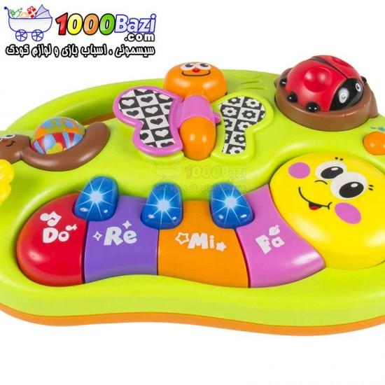 پیانو پروانه ای هولی تویز huile toys