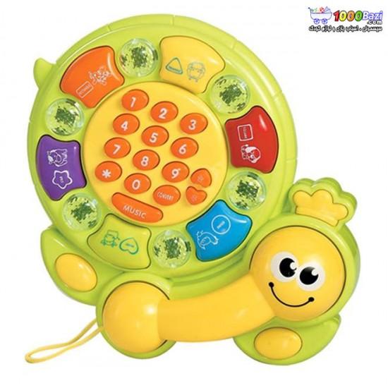 اسباب بازی تلفن فانتزی کودک طرح حلزون