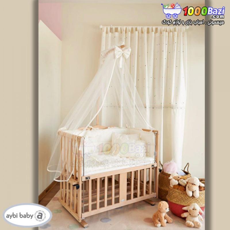 قیمت تخت چوبی نوزاد