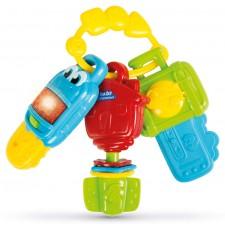 دندانگیر موزیکال کلید چراغدار Clementoni